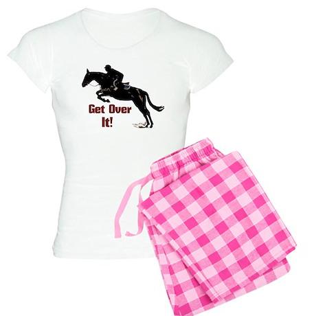 Get Over It! Horse Jumper Women's Light Pajamas