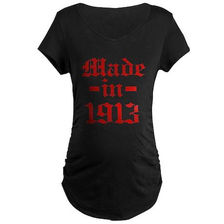 Made In 1913 Maternity Dark T-Shirt