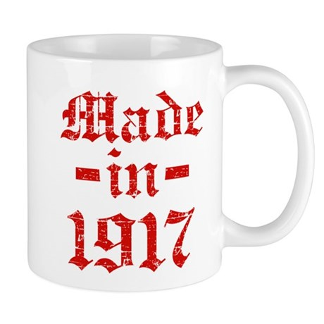 Made In 1917 Mug