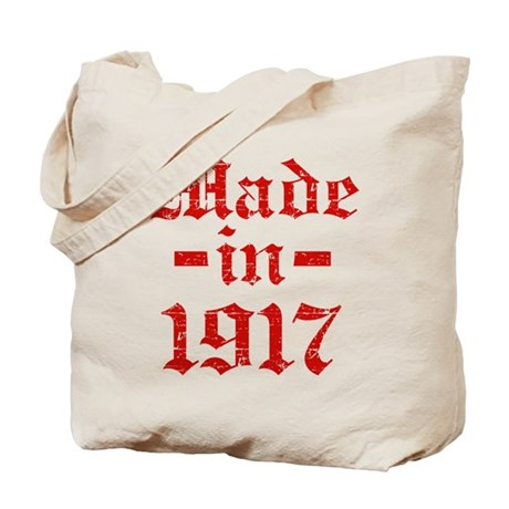 Made In 1917 Tote Bag
