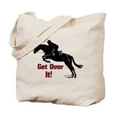 Get Over It! Horse Jumper Tote Bag