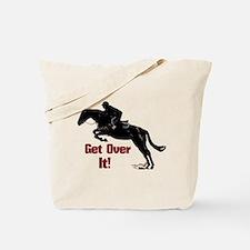 Get Over It! Horse Jumper Tote Bag