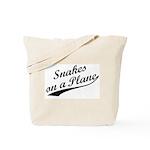 Snakes on a Plane Vintage Tote Bag