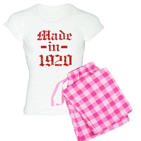 Made In 1920 Women's Light Pajamas