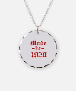 Made In 1920 Necklace
