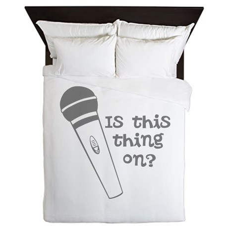 is this thing on Queen Duvet