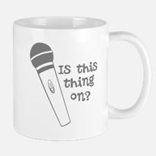 is this thing on Mug