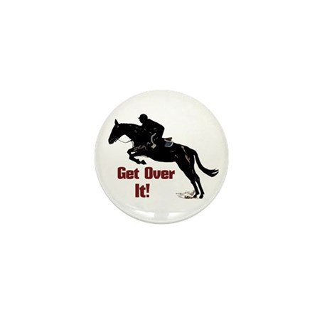 Get Over It! Horse Jumper Mini Button (100 pack)