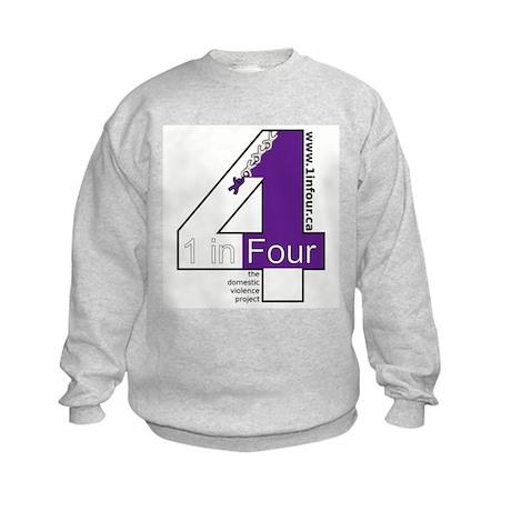 1 in Four Kids Sweatshirt