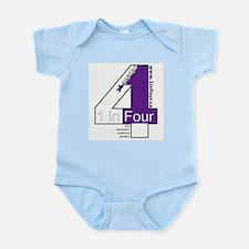 1 in Four Infant Bodysuit
