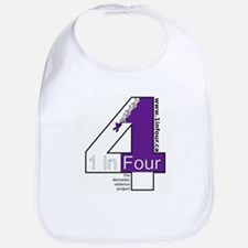 1 in Four Bib