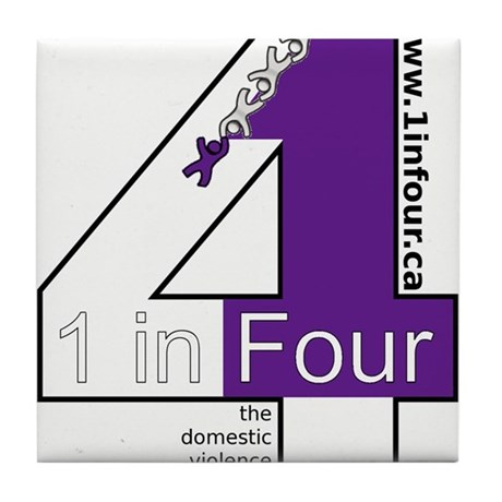 1 in Four Tile Coaster
