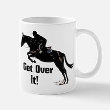 Get Over It! Horse Jumper Mug