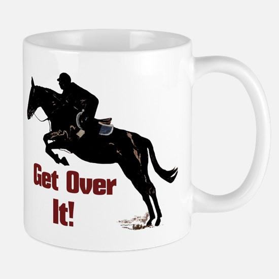 Get Over It! Horse Jumper Mug