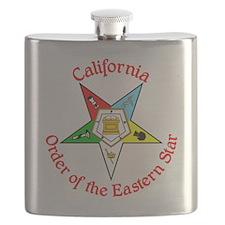 California Eastern Star Flask