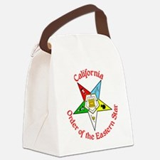 California Eastern Star Canvas Lunch Bag