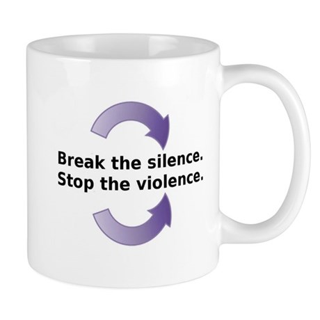 Break the silence Mug