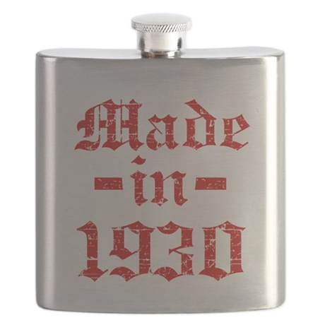 Made In 1930 Flask