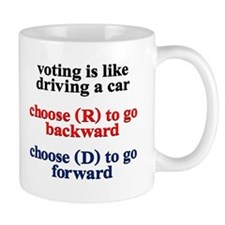 Democrat Voting/Driving Mug