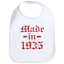 Made In 1935 Bib