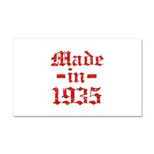 Made In 1935 Car Magnet 20 x 12