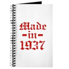 Made In 1937 Journal