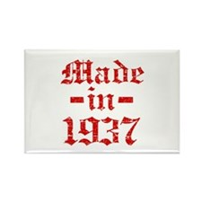 Made In 1937 Rectangle Magnet (10 pack)