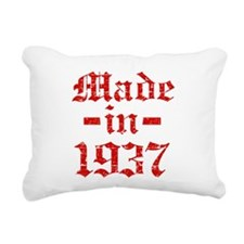 Made In 1937 Rectangular Canvas Pillow