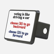 Democrat Voting/Driving Hitch Cover