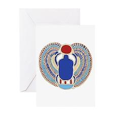 Tutankhamons Glyph Greeting Card