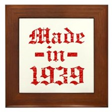 Made In 1939 Framed Tile