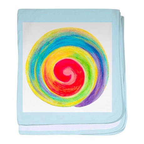 Reiki Colors Sm baby blanket
