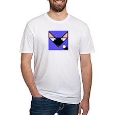 Cubist Black Fox Head and Tail Shirt
