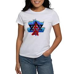 The Girl She Devil Pentagram Women's T-Shirt