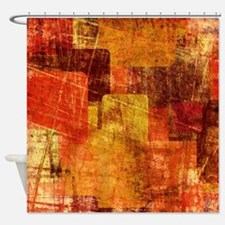 Grunge Box Shower Curtain