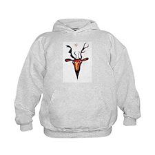 Elen Deer Goddess Hoodie