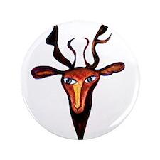 """Elen Deer Goddess 3.5"""" Button"""