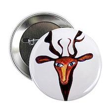 """Elen Deer Goddess 2.25"""" Button"""
