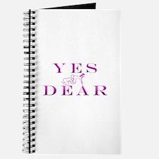 Cute Yes dear Journal