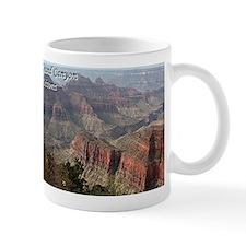 Grand Canyon, Arizona 2 (with caption) Mug