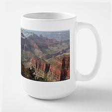 Grand Canyon, Arizona 2 (with caption) Large Mug