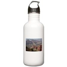 Grand Canyon, Arizona 2 (with caption) Water Bottle
