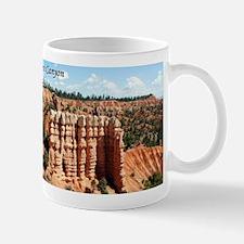 Bryce Canyon, Utah (with caption) Mug