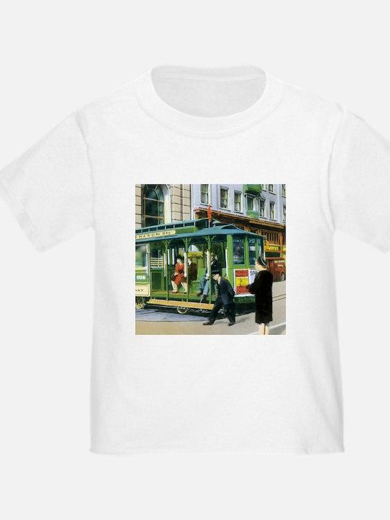San francisco cable car t shirts shirts tees custom for San francisco custom shirts
