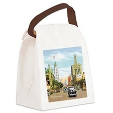 Vintage Hollywood Canvas Lunch Bag