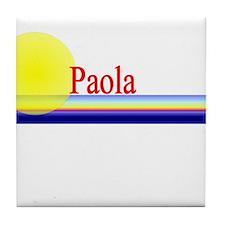 Paola Tile Coaster