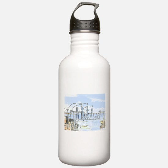 Maripinated: Electron Farm Water Bottle