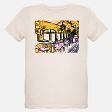 Cafe in Railroad Car T-Shirt