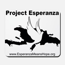 Project Esperanza Apparel and More Mousepad
