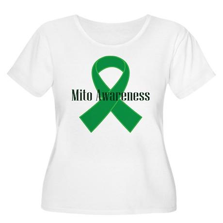 Mito Awareness Green Ribbon Women's Plus Size Scoo